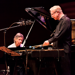 Chick Corea and Gary Burton | photo by M Findlay - supplied by MIJF