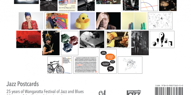 Wangaratta Festival of Jazz & Blues – souvenir postcards