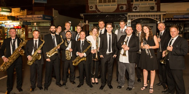 Jack Earle Big Band – be part of their first disc