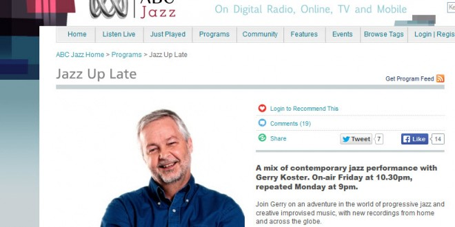 ABC Jazz programming changes for 2015