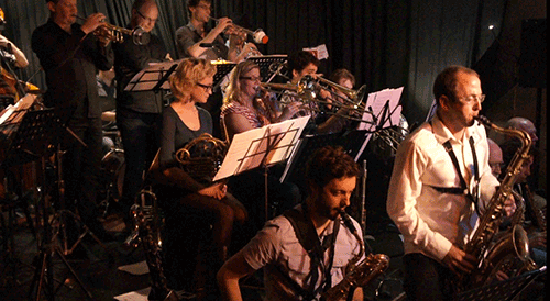 Phil Sandford reviews Kinetic Jazz Orchestra at 505