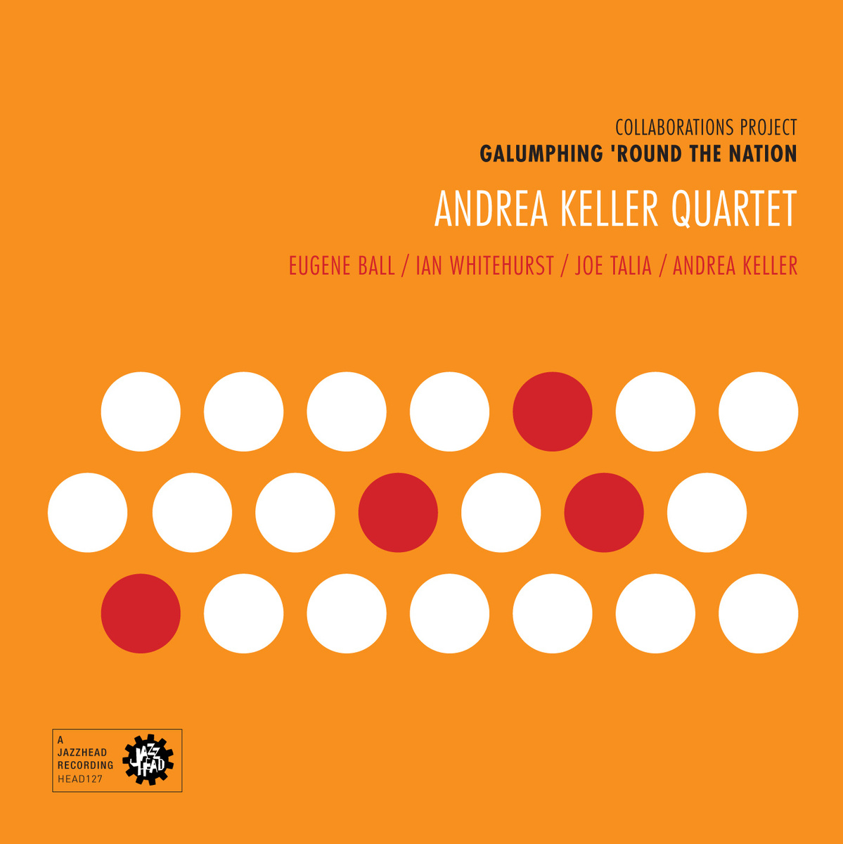 CD Review: Galumphing 'Round the Nation – Andrea Keller Quartet