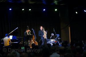Julien Wilson Quartet at Wangaratta Festival of Jazz and Blues 2013 | image by Damian Diviny